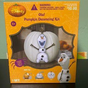 Olaf Pumpkin Decorating Kit